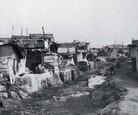 Refugee camp in Kokkinia (current day Nicaea in PIreaus) 1929.