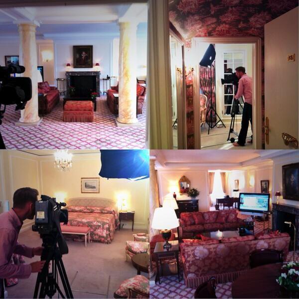 Penthouse Suite, Hotel Le Bristol