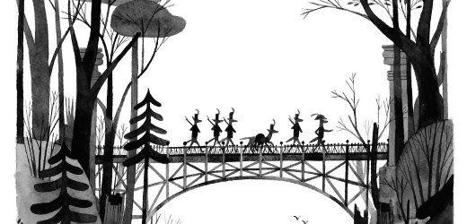Kinderbuch-Bestseller: Bewaffnete Kojoten im Zauberwald