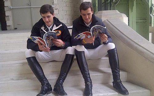 love equestrian men