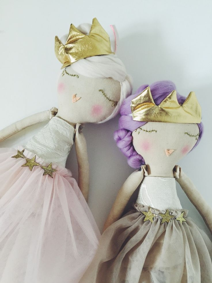 Image of OOAK Handmade Princess cloth doll