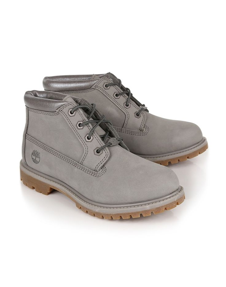 timberland women's nellie chukka double waterproof boot brown leather