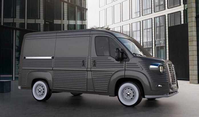 citro n type h 2017 l 39 incroyable kit carrosserie. Black Bedroom Furniture Sets. Home Design Ideas