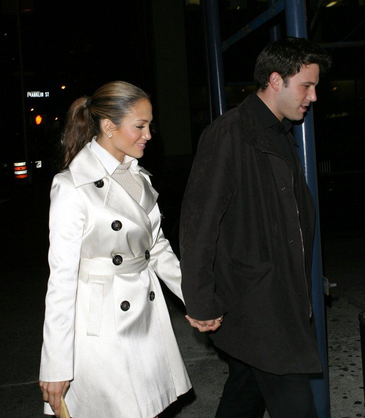 Pin for Later: These Photos of Jennifer Lopez and Ben Affleck Will Take You Way Back  Jennifer had that look of love during their outing in NYC in October 2003.