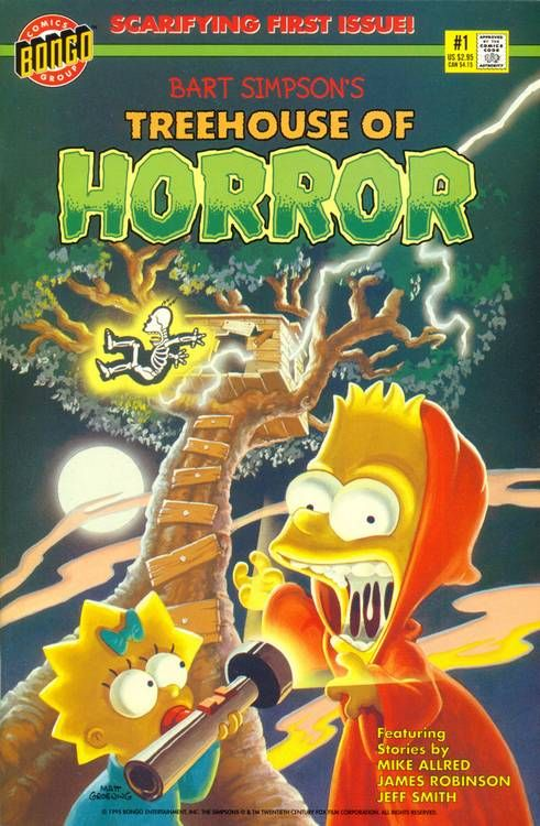 The Simpsons Treehouse of Horror Comic