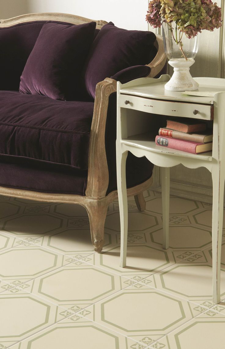 A close up of the Dolce tiles in soft green - the epitome of elegance - from the Odyssey collection by Original Style