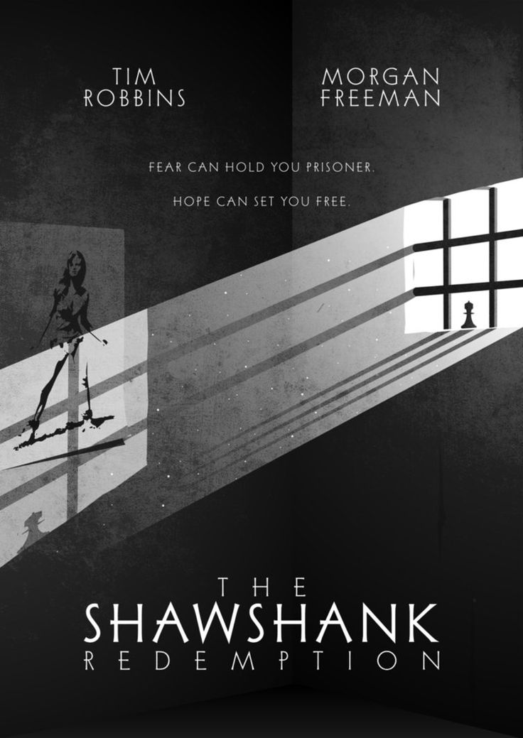 Watch this. Best movie of all time. The Shawshank Redemption.