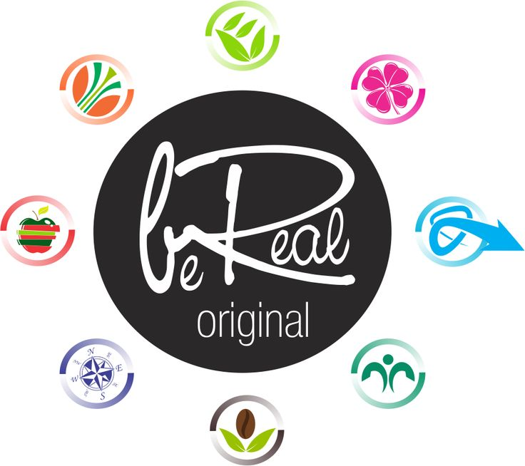 new logo design for Be Real