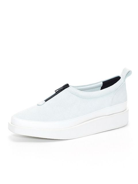 wite  A01- White Nubuck Shoes