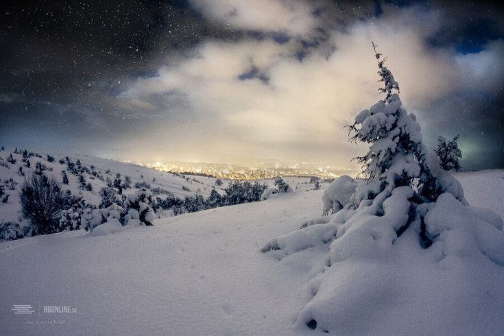 FOTO: Čarovná Banská Bystrica pod snehom | BBonline.sk