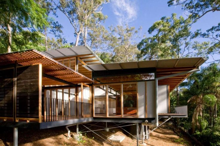 A Bush-Style Home for Beautiful Pittwater Site