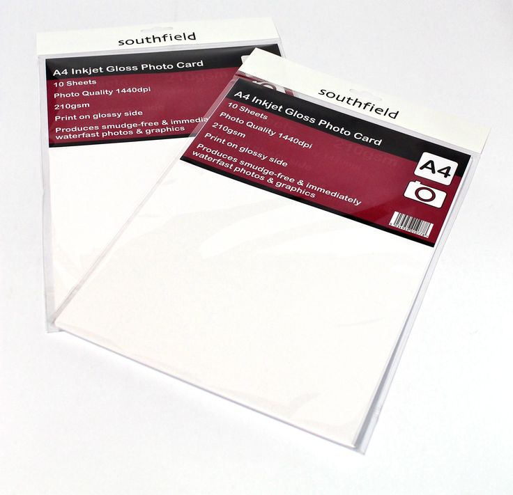 Inkjet product made here in the UK. Print your own product!! http://www.southfield-stationers.com/stationery/inkjet-products-183/