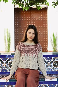 OMG I love this sweater!! Ravelry: Dia pattern by Martin Storey
