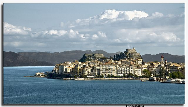 Corfu's old fort Share, Like, Repin! Also find us at http://instagram.com/mightytravels