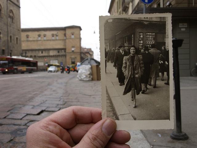 Bologna, Via Rizzoli, anni 40