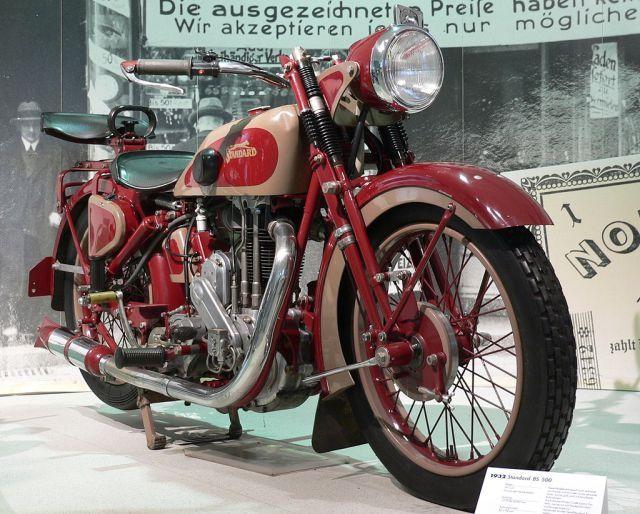 1932 Standard Modelle 500 497 cm  one cylinder motor 12 hp-4-500-u-min-90-km-h
