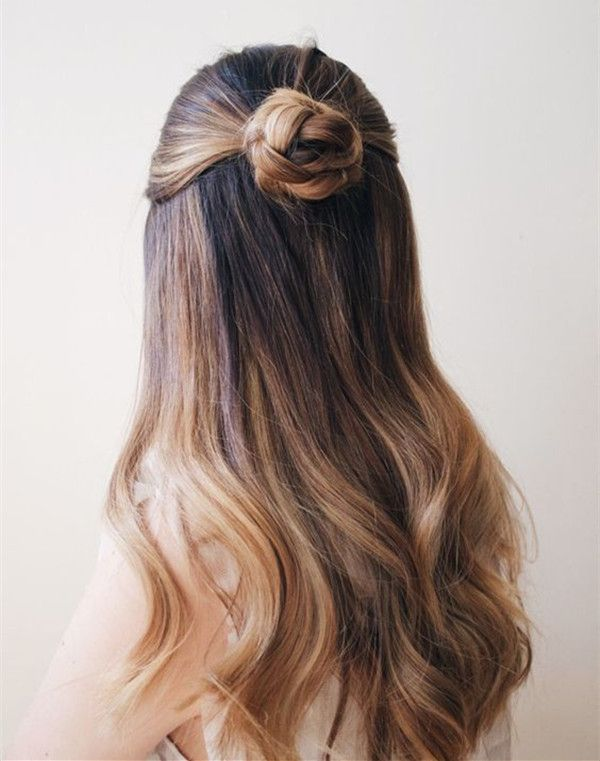 10 Ideas Of Half Up Bun Perfect Hairstyle For Back To