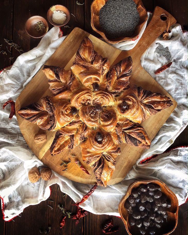 Olive Bread, Bread, ekmek, zeytinli ekmek