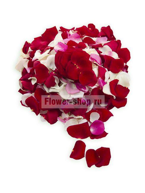 Лепестки роз «Романтический микс»