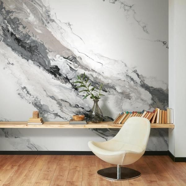Roommates 12 Ft X 9 Ft Cystal Geode Peel And Stick Wallpaper Mural Rmk11554m The Home Depot Peel And Stick Wallpaper Wall Murals Mural