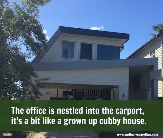 The Home Office - My Grown Up Cubby House