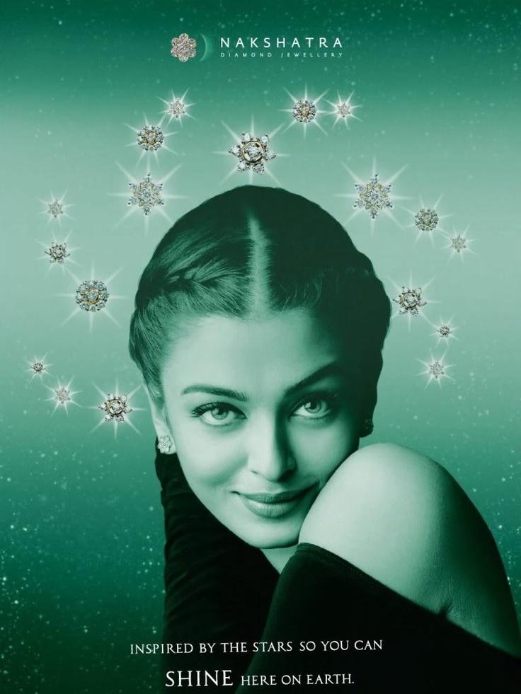 Aishwarya Rai 's Nakshatra Diamonds Ad