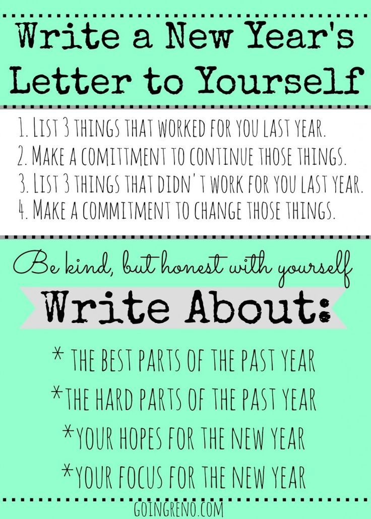 86 best new year resolutions images on pinterest new year wishes start a new years tradition of writing a letter to yourself to open the following spiritdancerdesigns
