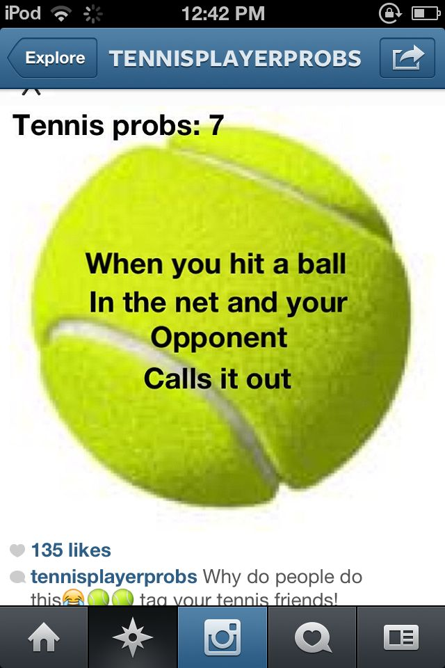 you don't say... #tennis