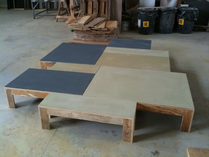 stage idea – modular coffee tables