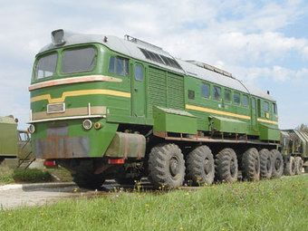 Train? truck? you decide.