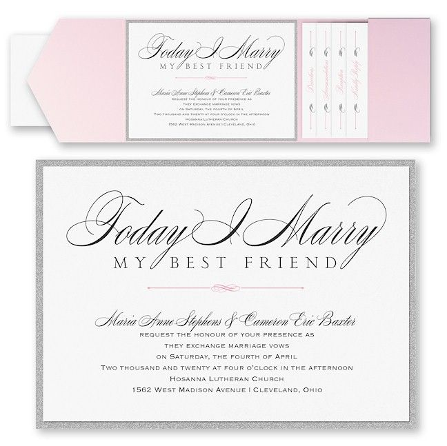 159 Best Images About Pocket Wedding Invitations On