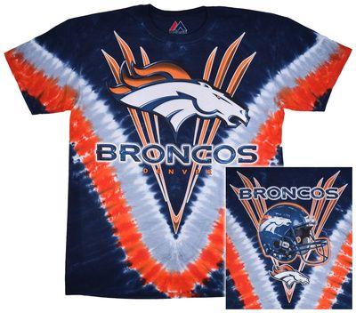 Broncos Logo V-Dye
