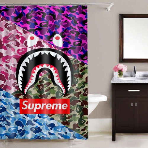 Famous Supreme Logo Bape Camo High Quality Waterproof Shower Curtain 60 x 72 #winter2018 #spring2018 #fall208 #summer2018 #autumn2018 #vogue2018 #valentine2018 #2018fashion #2018wedding #2018Goals #2018 #christmas2018 #thanksgiving2018 #halloween2018 #spring #winter #autumn #fall #summer #vogue #valentine #wchristmas #thanksgiving #halloween #wedding #supreme #supremenyc #supremeforsale #supremenewyork #supreme4sale #supremela #supremeny #suprememarketplace #supremejapan #supremelondon…