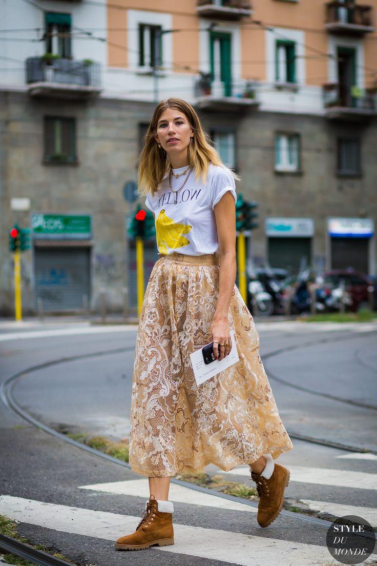 Milan Fashion Week SS 2016 Street Style: Veronika Heilbrunner