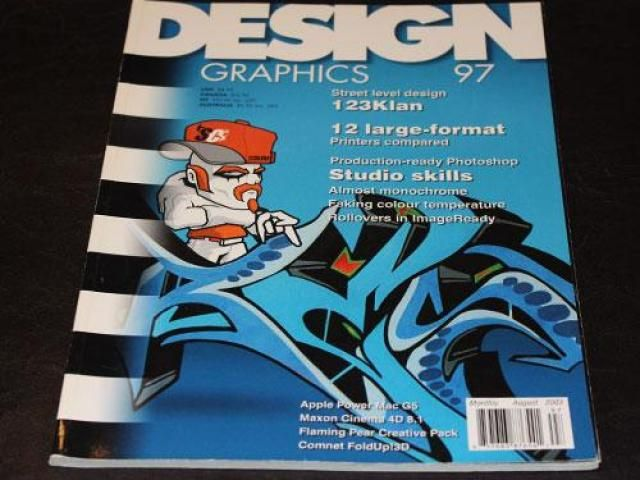 Design Graphics magazine August 2003