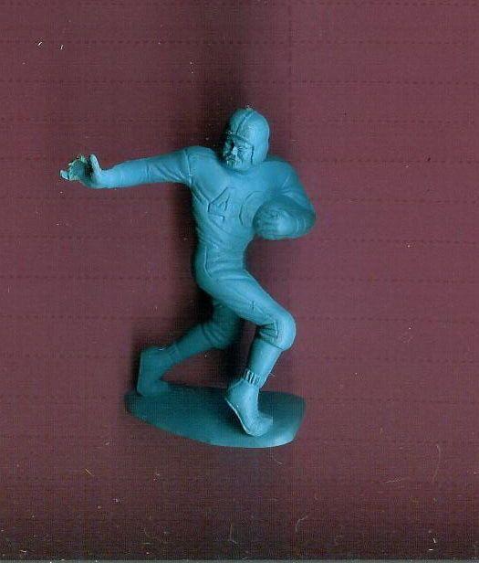 MARX VINTAGE  ATHLETE SPORTS FIGURE FOOTBALL PLAYER PLAYSET FIGURE  1950/60'S #Marx