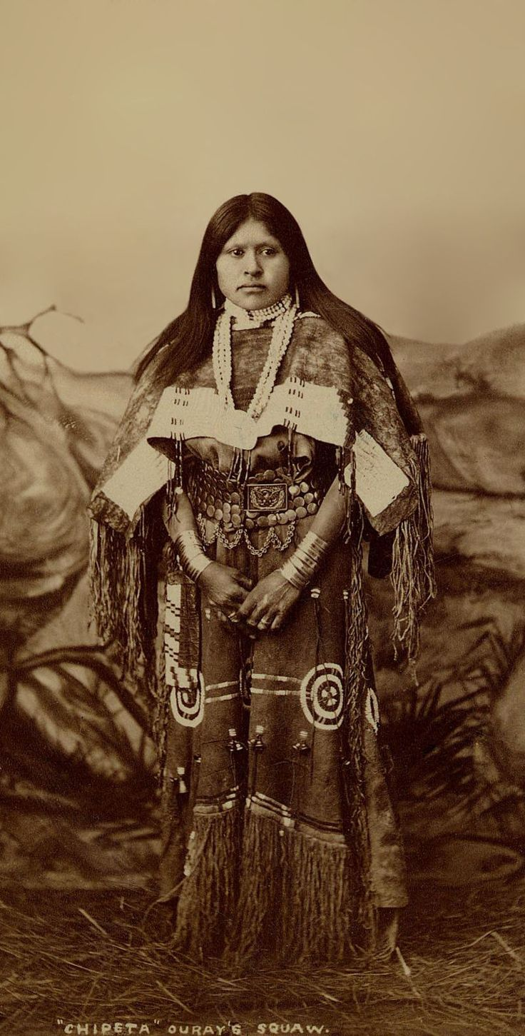 Chipeta, Ouray's wife 1882