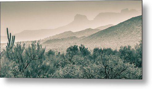 Apache Trail Metal Print by Racheal Christian.  All metal prints are professionally printed, packaged, and shipped within 3 - 4 business days and delivered ready-to-hang on your wall. Choose from multiple sizes and mounting options.