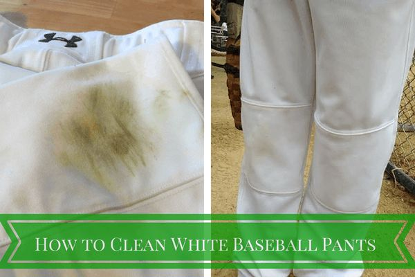 "I've been trying all summer to find a ""how to clean white baseball pants"" and nothing has worked. Until now."