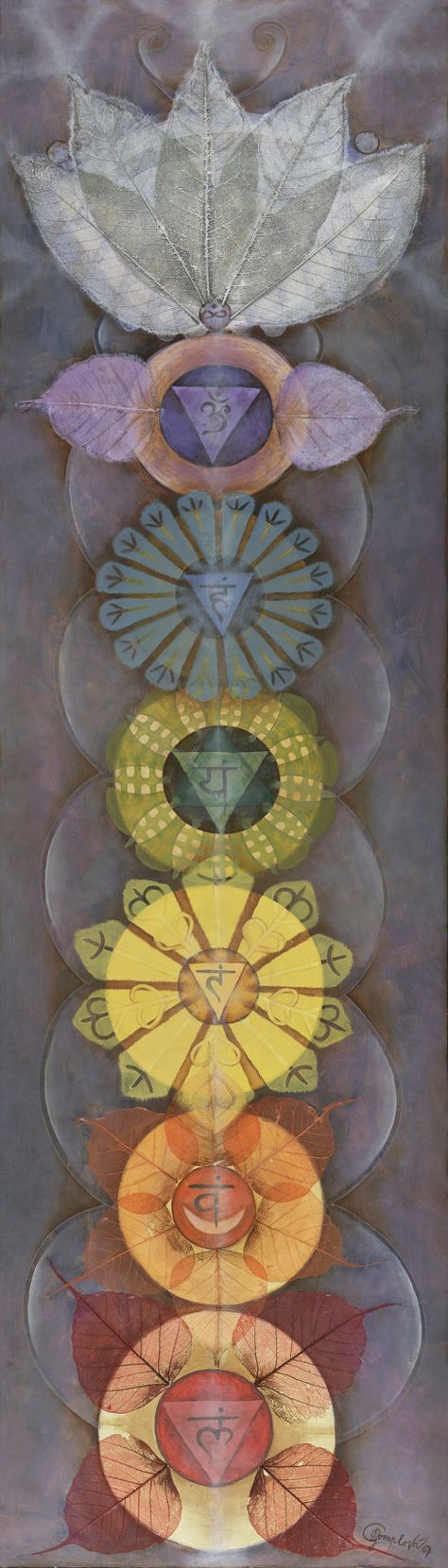 CHAKRAS energía de reiki yoga arte espiritual YOGA por GPyoga