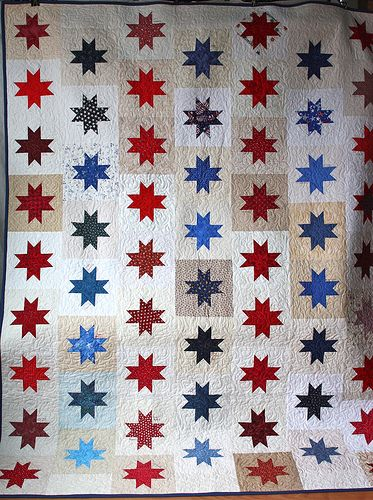 316 best Americana flag quilts images on Pinterest | Sew, Blue ... : flag quilts - Adamdwight.com