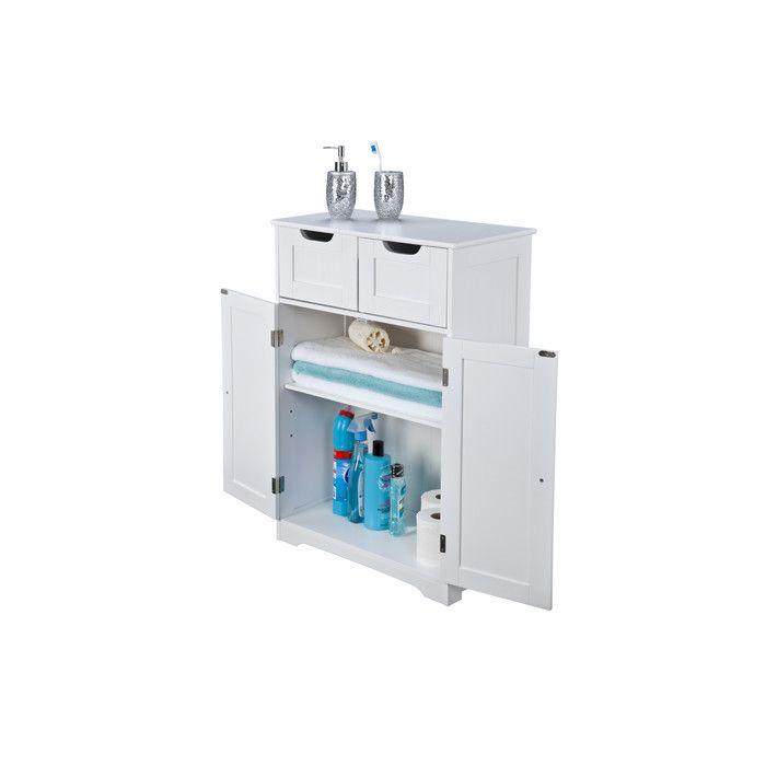 Interior White Kensa 56 x 83 cm Free Standing Cabinet & Reviews | Wayfair UK