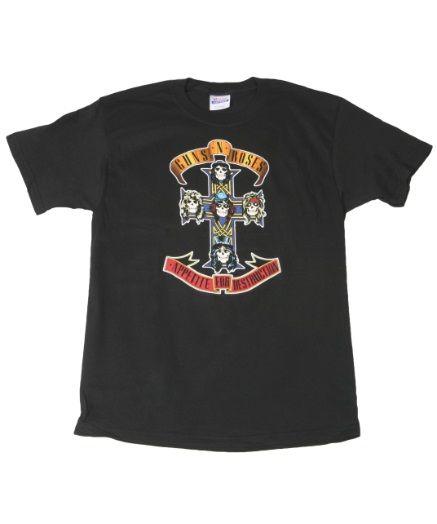 Guns N' Roses Cross T-Shirt  #GunsNRoses #Cross #T-Shirt #gunners #gnr #tee