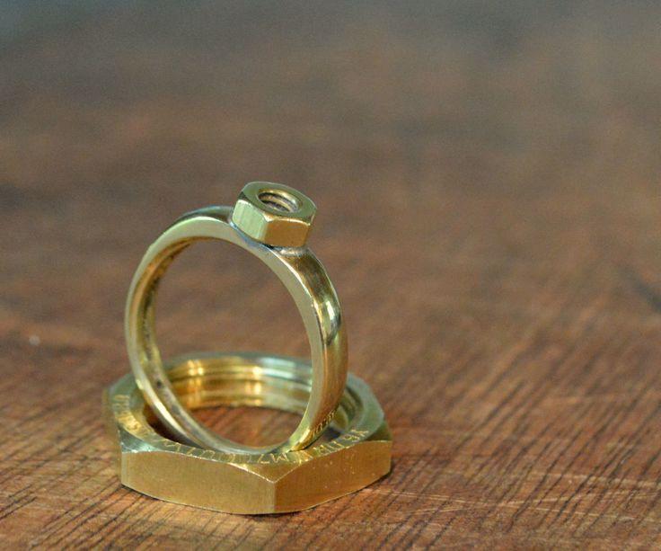 1000+ ideas about Hex Nut Jewelry on Pinterest | Nut bracelet, Diy ...