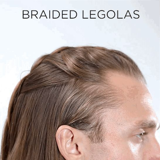 Get Your LOTR On With An Unfinished Braid To Create The