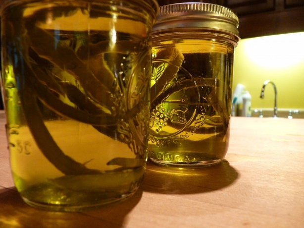garlic scape oil: Scape Infused, Garlic Scapes, Food, Oil Infused, Scape Week, Infused Oils, Scape Oil, Olives, Infused Olive Oils