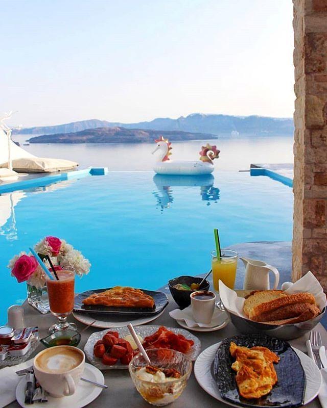хлебникова красивый завтрак у моря картинки рисунок белого