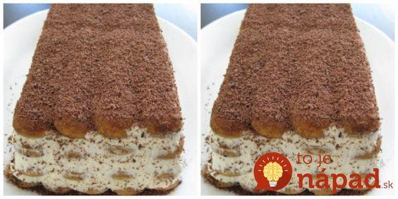 Výborný zákusok na nedeľné popoludnie. Určite sa oplatí vyskúšať ho, my ho robíme každučký týždeň! Potrebujeme: Dlhé piškóty 500 ml smotany na šľahanie 250 g mascarpone alebo jemnéhot varohu 1 lyžičku vanilkového extraktu 3 banány 3 lyžice práškového cukru – prípadne podľa chuti Na posypanie: Strúhanú čokoládu Postup: Smotanu s práškovým cukrom ušľaháme na tuhú...