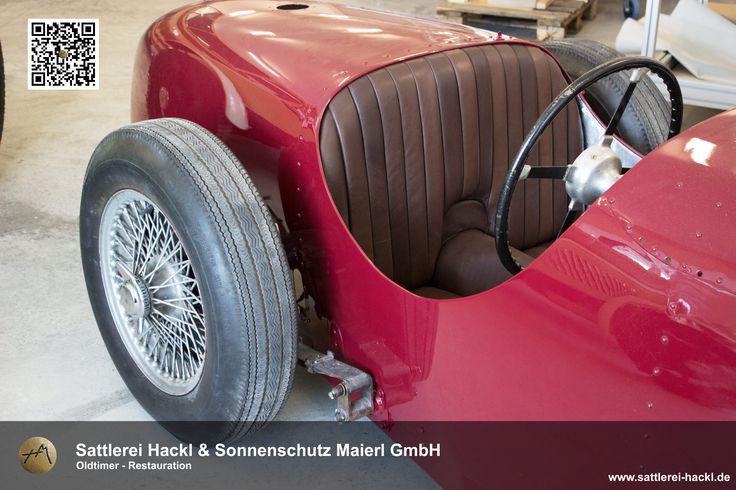 #Oltimer #Oldtimer-Sitzbezug #Sitzbezug #Autoinnenausstattung #Autoleder #Polsterarbeiten #Restauration #Neubezug #Sattlerei #Hackl #Landau an der Isar