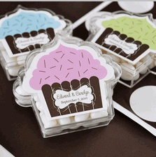 Cupcake Acrylic Favor Boxes - Clear Favor Boxes for Cupcakes